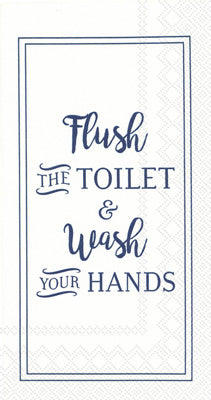 Guest Towels -Flush & Wash