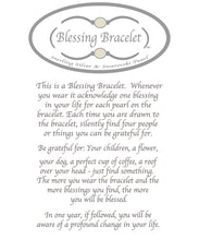 Load image into Gallery viewer, Faceted Smoky Qrtz Blessings Bracelet