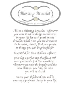Faceted Smoky Qrtz Blessings Bracelet