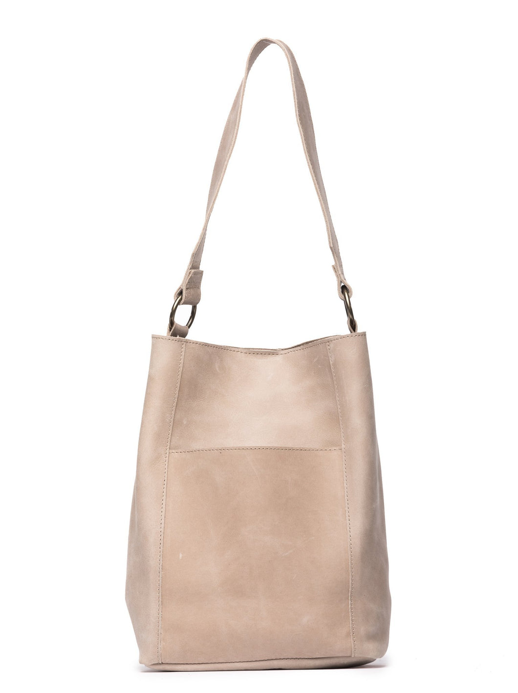 Able Mihiret Bucket Bag -Fog