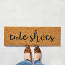 Load image into Gallery viewer, Door Mat -Cute Shoes