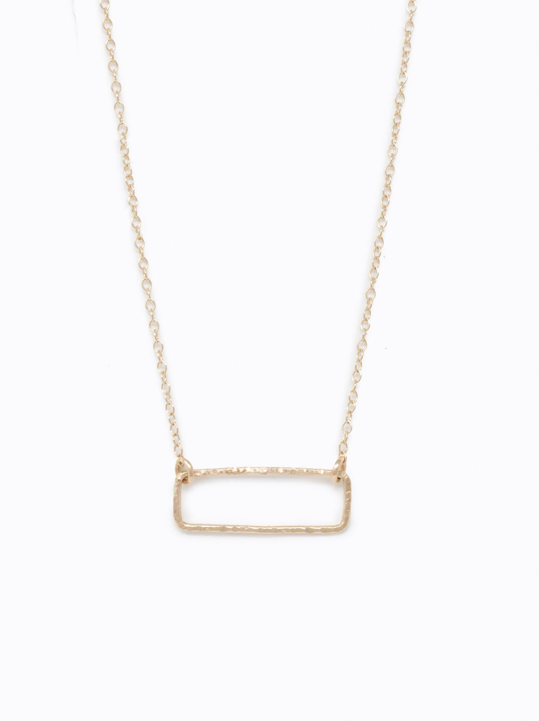 Able Floating Shape Necklace