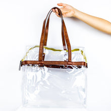 Load image into Gallery viewer, mb greene Be Clear -Tote w/ Privacy Pouch