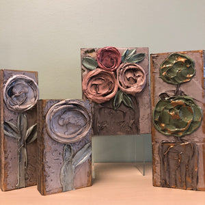abs Floral Assorted Art Blocks