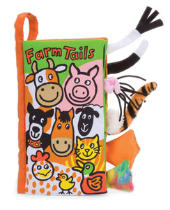 Jellycat Activity Book -Farm Tails