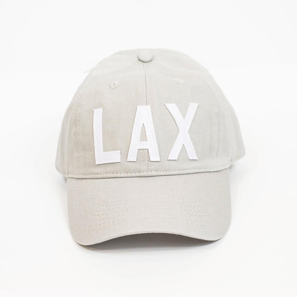 Aviate Hat -LAX Los Angeles -Grey