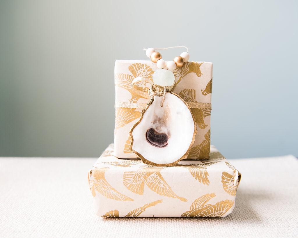 The Oyster Ornament Napkin Ring