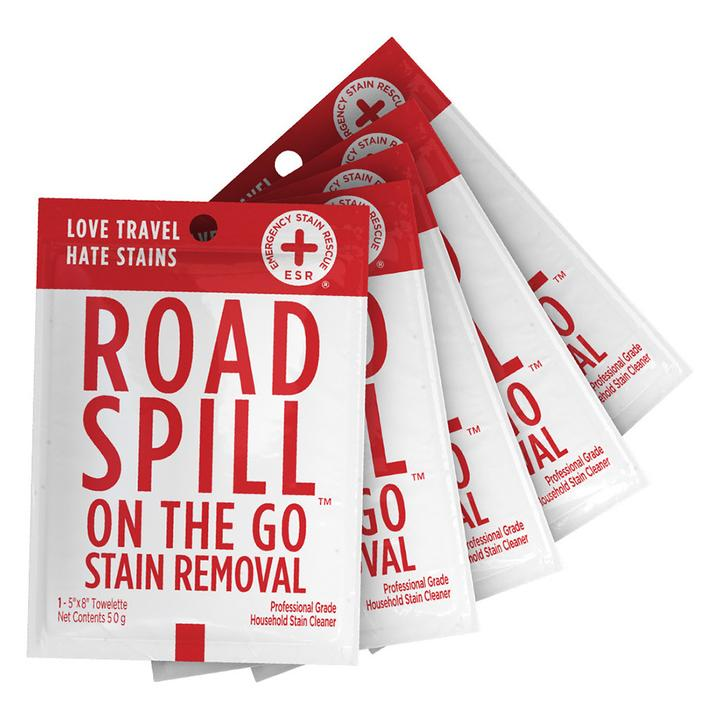 Road Spill On-the-Go Stain Removal Wipes