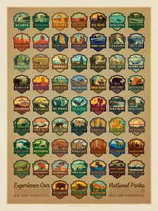 True South National Park Emblem Puzzle