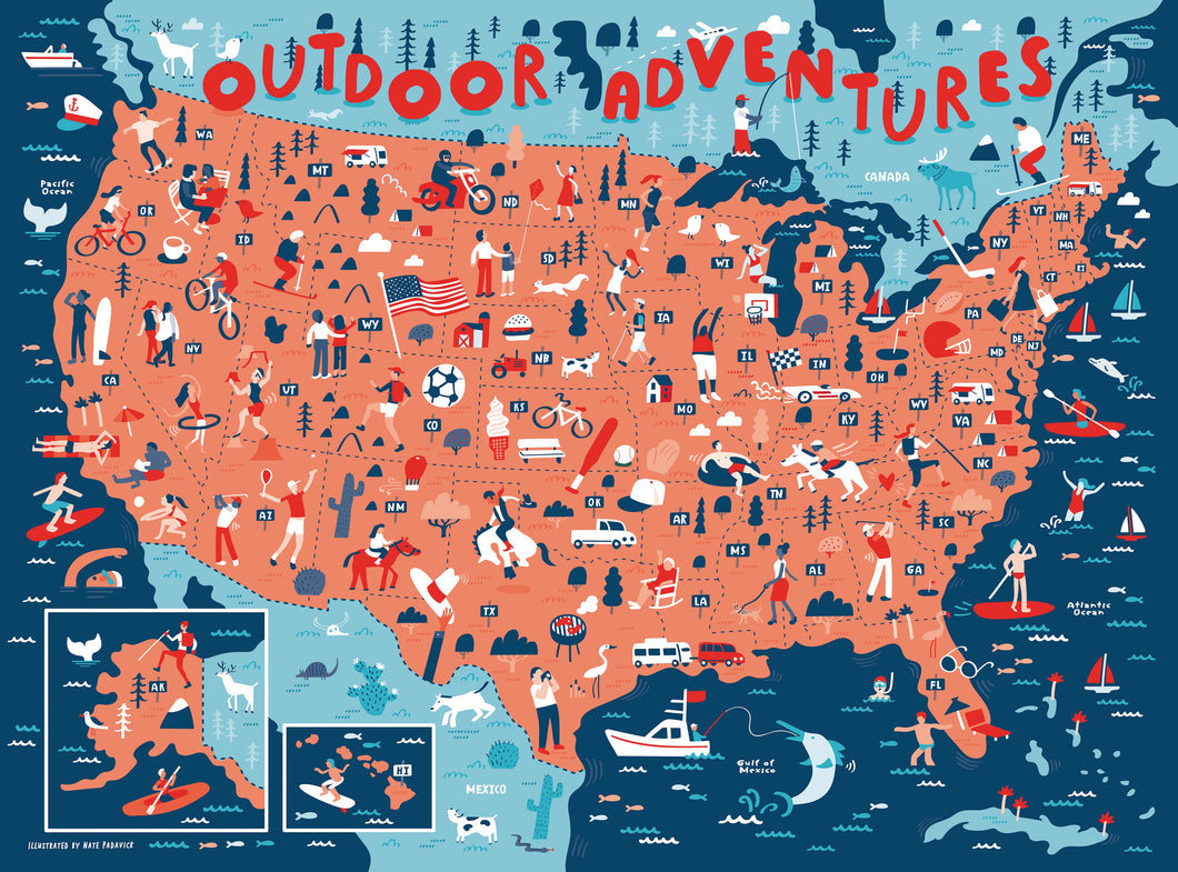 True South Outdoor Adventures Puzzle