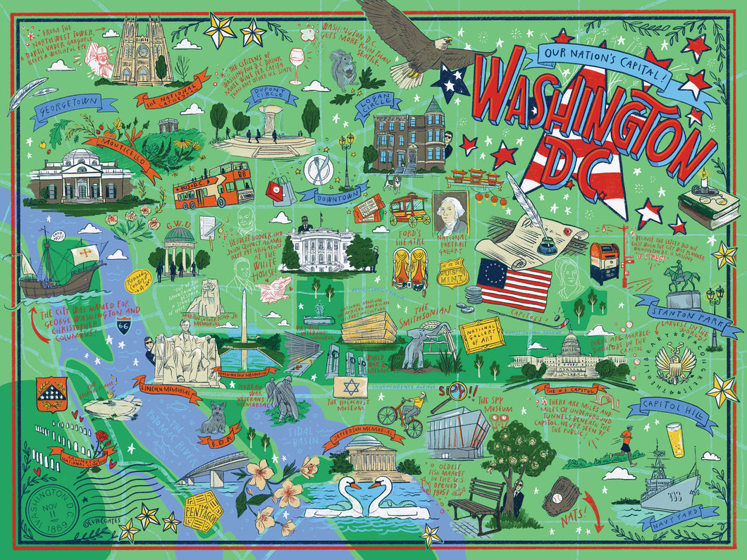 True South Washington DC Puzzle