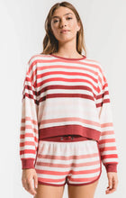Load image into Gallery viewer, Z Supply Rainbow Stripe Pullover