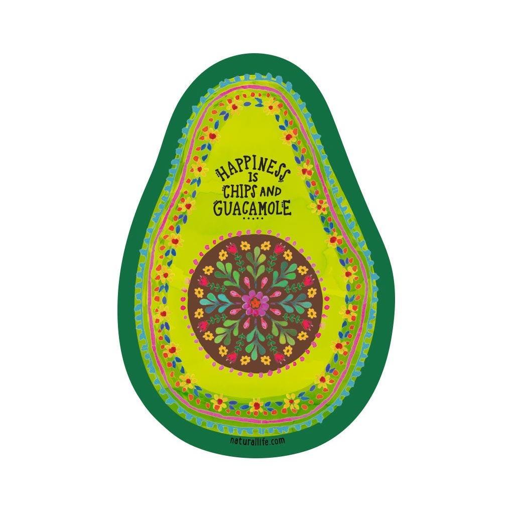Natural Life Sticker -Avocado