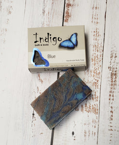 Indigo Blue Body Soap