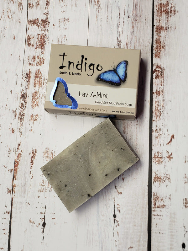 Indigo Lav-A-Mint Facial Soap