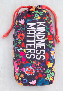 Natural Life Microfiber Beach Towel -Kindness