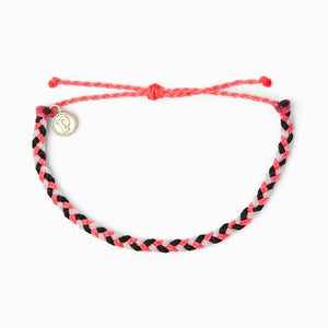 puravida mini braided bracelets