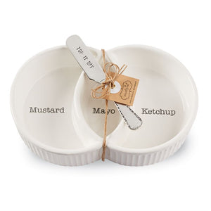 Condiment Server Set