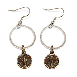RSD Silver Ring Earrings