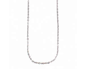 Waxing Poetic Flat Cable Chain -Sterling Silver -18""