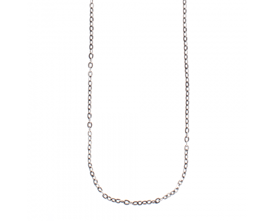 Waxing Poetic Flat Cable Chain -Sterling Silver -18