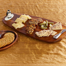 Load image into Gallery viewer, nora fleming walnut tasting board