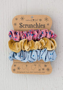 Natural Life Velvet Scrunchie Sets