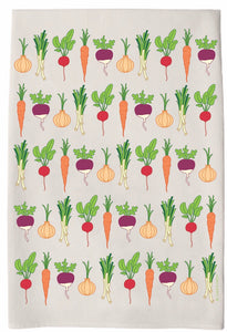 c&c Hand Towel -vegetable garden