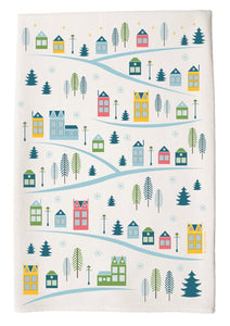 c&c Hand Towel -winter village