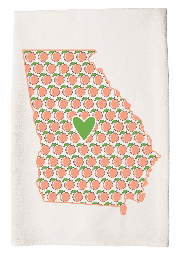 c&c Hand Towel -Hometown Heart Sugar Hill