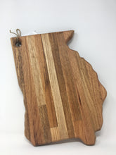 Load image into Gallery viewer, GWW Handmade Hardwood Georgia Cutting Board