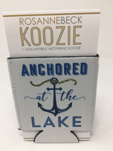 Load image into Gallery viewer, Anchored at the Lake Koozie