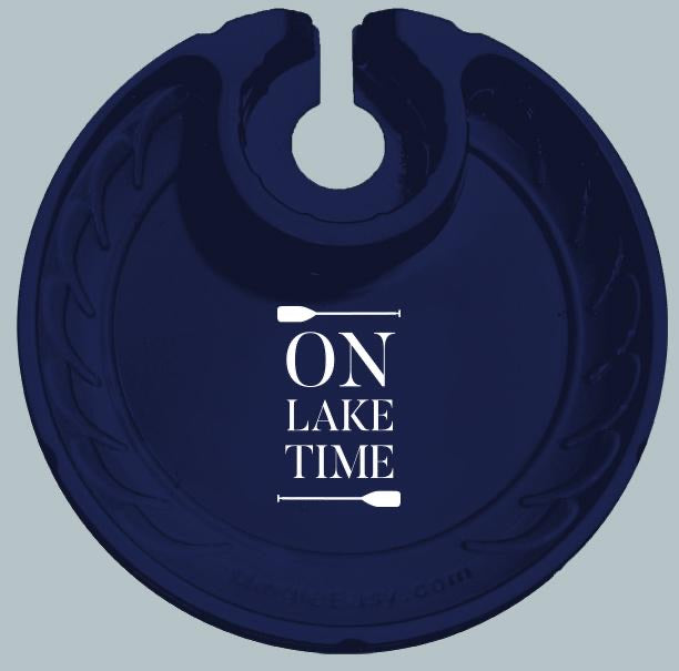 On Lake Time Party Plates