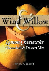 Wind & Willow Lemon Cheesecake Cheeseball