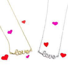 Load image into Gallery viewer, RSD Love Script Necklace