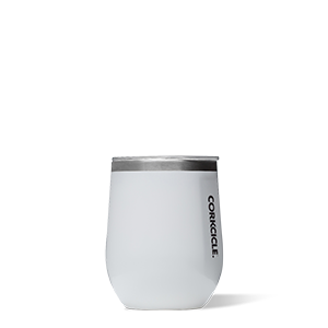 Corkcicle Stemless Wine -White