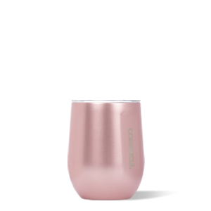 Corkcicle Stemless Wine -Rose`