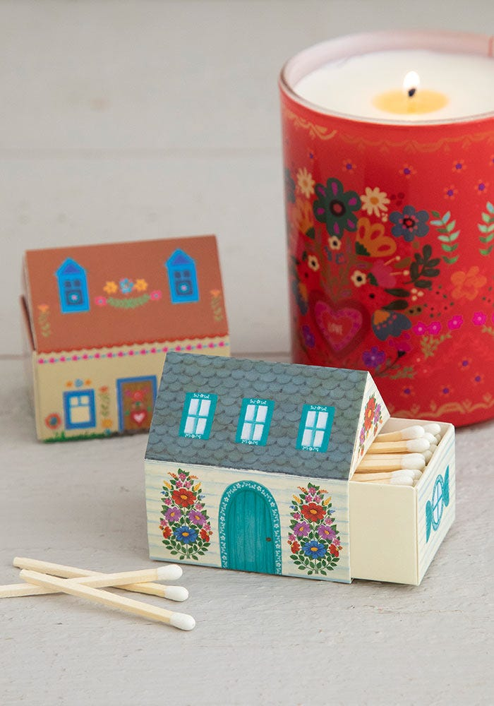 Natural Life Matchbox Cottage