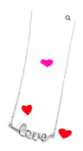 RSD Love Script Necklace