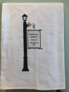 SSH Flour Sack Towel -Hometown Lamp Post -Sugar Hill
