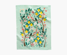 Load image into Gallery viewer, Rifle Paper Tea Towel -Shanghai Garden