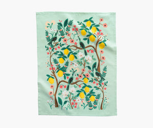 Rifle Paper Tea Towel -Shanghai Garden
