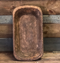 Load image into Gallery viewer, Carved Dough Bowl -Medium