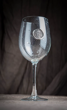 "Load image into Gallery viewer, Southern Jubilee ""Initial"" Medallion Wine Glass"