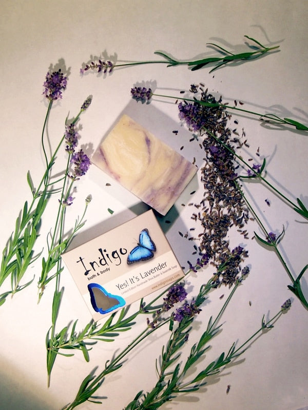 Indigo Yes!  It's Lavender Body Soap