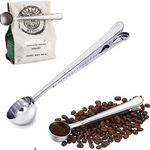 Measuring Spoon/Scoop Ground Coffee with Bag Clip