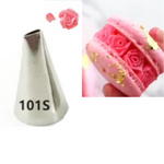#101S Small Rose Petal Icing Piping Tip