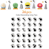 52pcs/Set Cake Decorating Tools