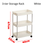 Kitchen Movable Storage Rack
