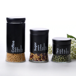 Storage Jars Black